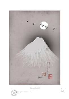 Mount Fuji - Artist SIgned Numbered Prints